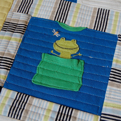 Work In Progress Baby Clothes Quilt Maker Mama