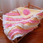 T-shirt Ruffle Blanket