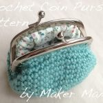 Crochet Coin Purse Pattern Now Available