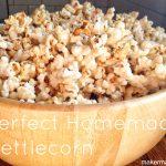Perfect Homemade Kettlecorn