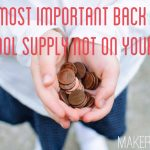 The Most Important Back to School Supply Not on Your List