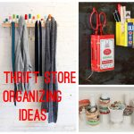 12 Thrift Store Organizing Ideas