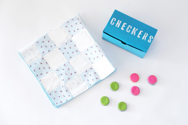 diy-recycled-checkers-set
