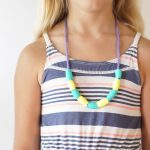 Paper Bead Necklace Tutorial