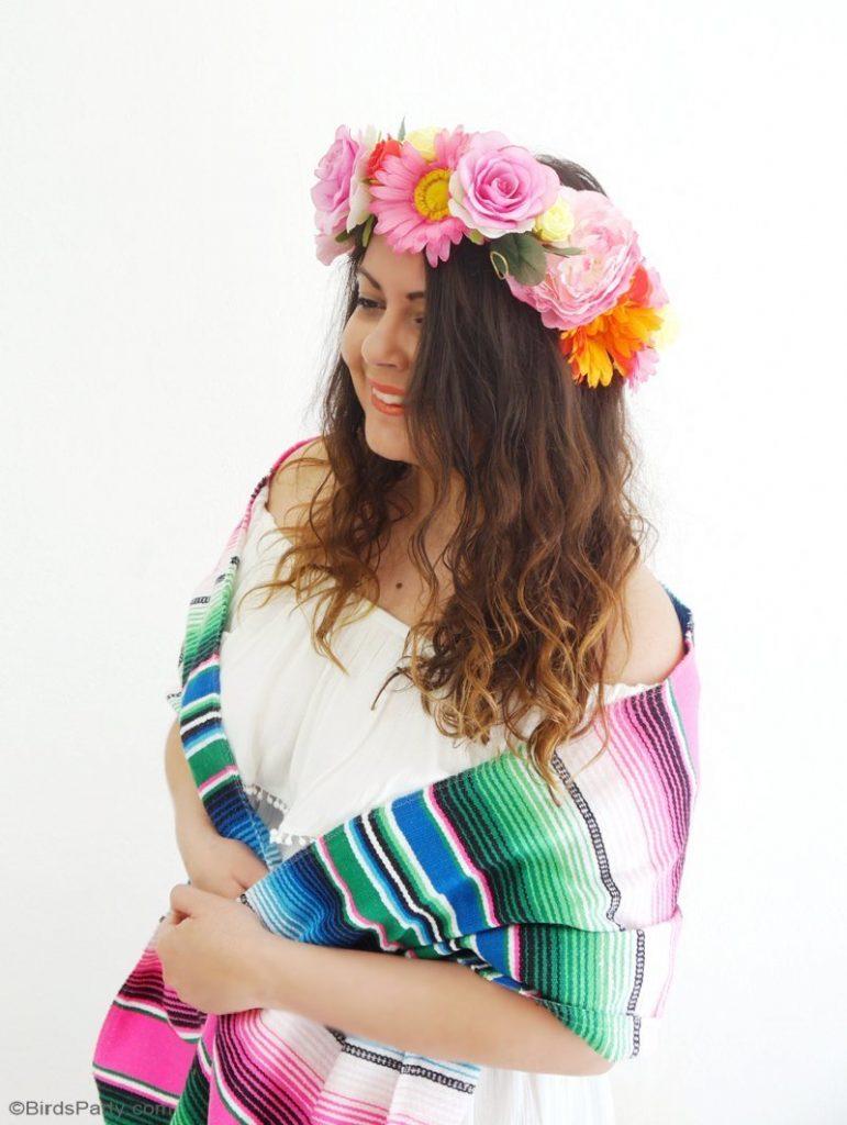 diy-flower-crowns-cinco-de-mayo-party-ideas