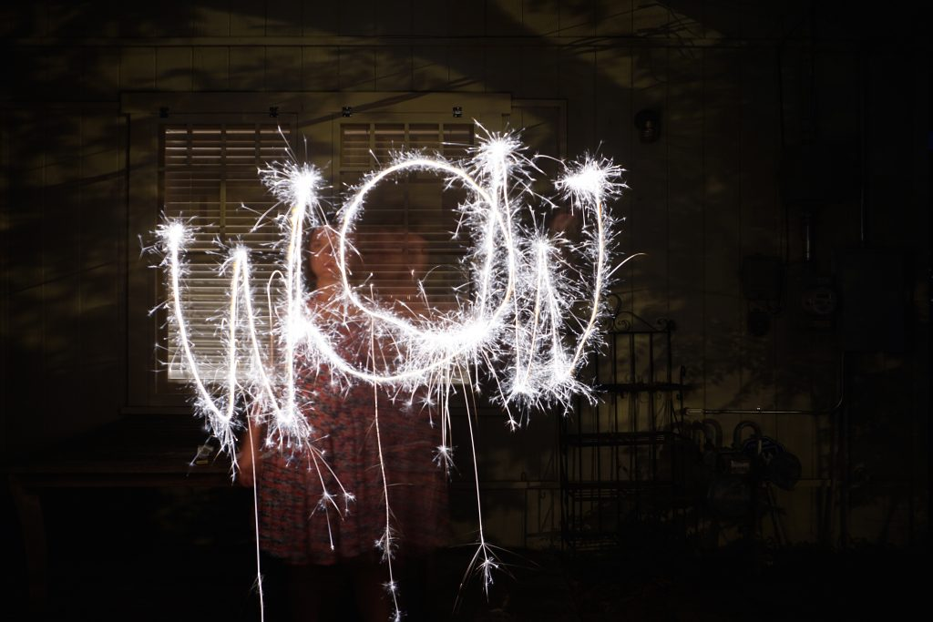 How to Take Sparkler Photos