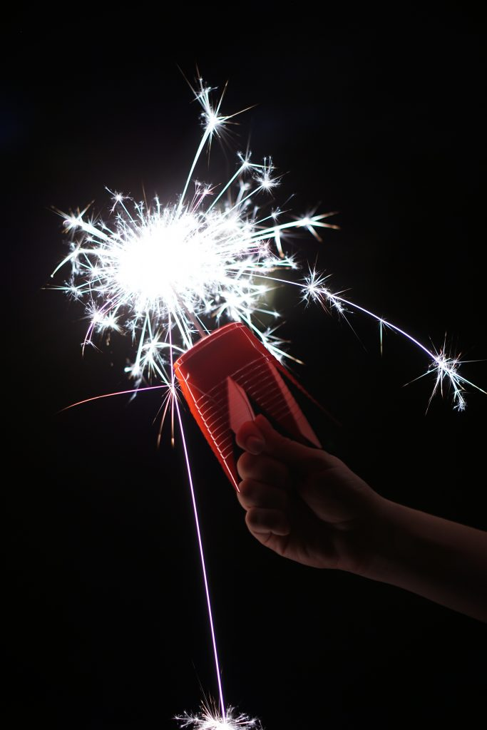 DIY Sparkler Holder
