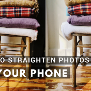 how-to-straighten-photos-on-your-phone